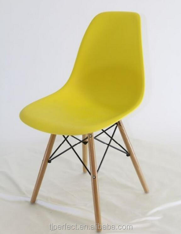 fancy stylish cheap modern most comfortable yellow plastic dining room <strong>chair</strong>