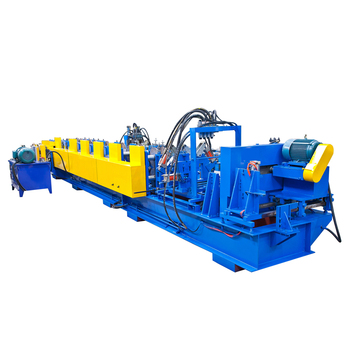 High speed Z forming light truss gauge steel framing machine