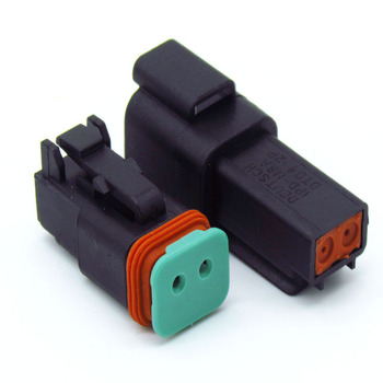 Awesome Cnkf Auto Connector Dt06 2S Deutsch Dt 2 Pin Female Waterproof Wiring 101 Capemaxxcnl