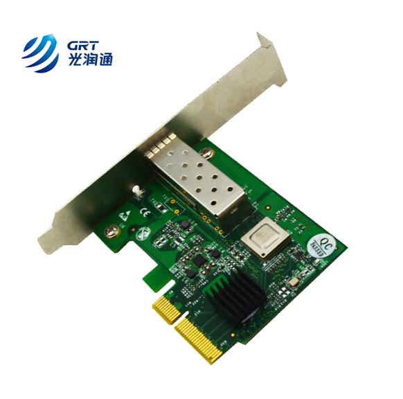 Manufacturer price unique MAC address 10Gb single port PCIe NIC SFP Network Card