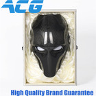 Trade Assurance Carbon Fiber Ghost Mask Party mask