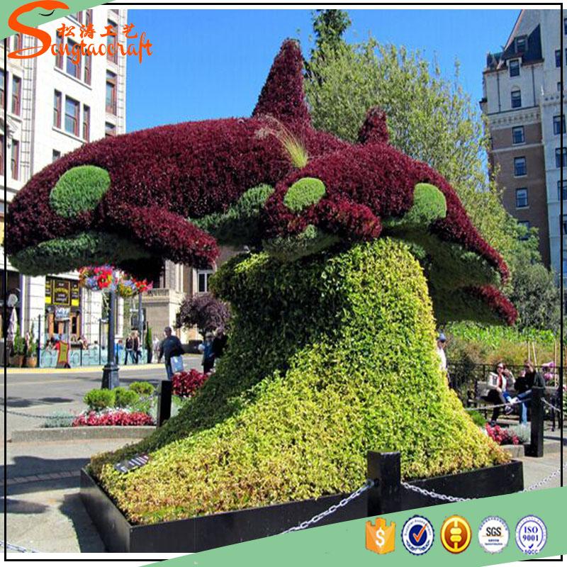 Giant Al Por Mayor Animales De Plástico Jardín Decoración Artificial ...