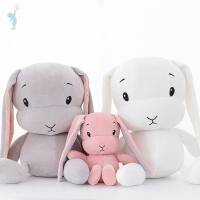 Alibaba wholesale High quality best made long ear stuffed plush soft bunny