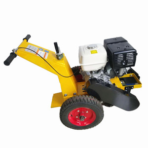 Road construction equipment cleaning road cutting machines