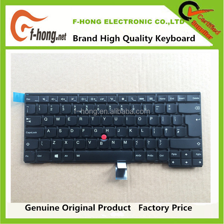 Best Price Backlight Keyboard For IBM Lenovo Thinkpad T440 T440p T440s T450 UK Layout 04X0130