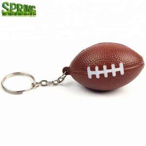 Promotion gift American Football Fans Keychain /USA Rugby Ball Key Chain