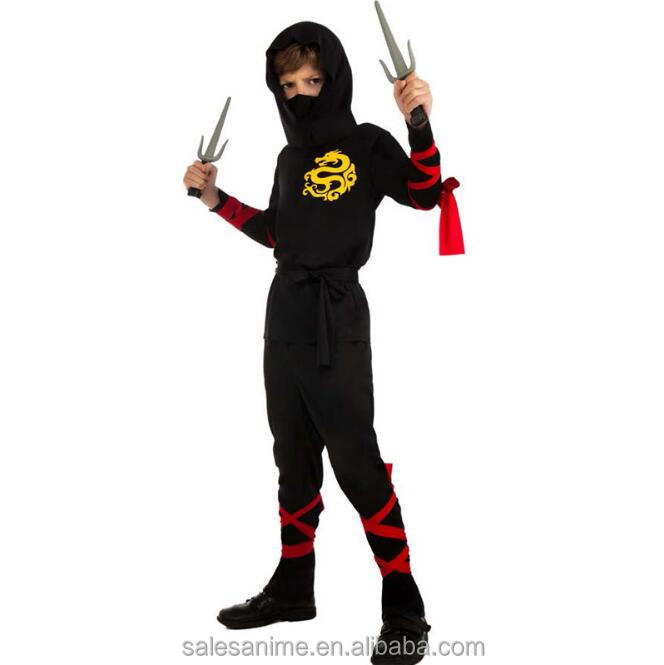hot sales party halloween anime japanese ninja costume for kids cosplay