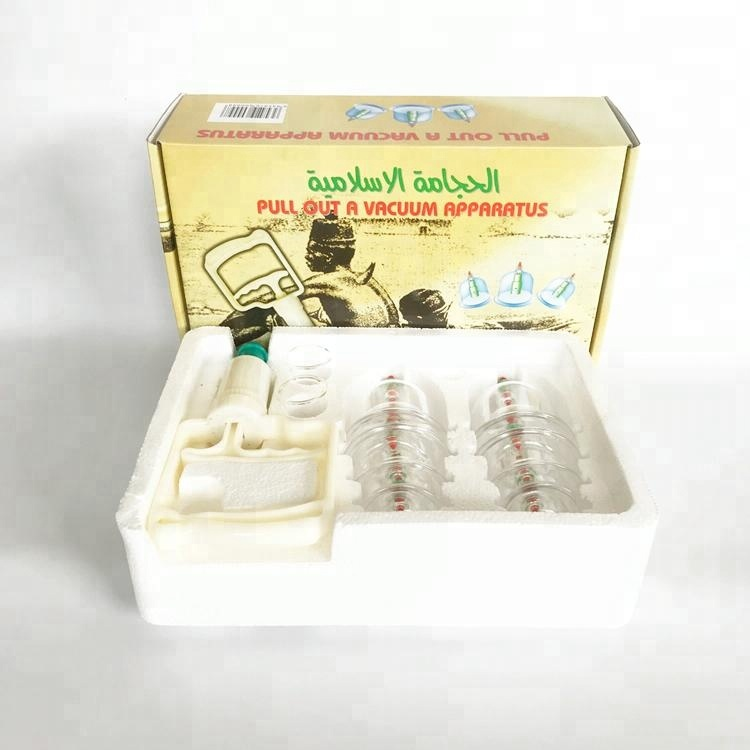 cupping set hijama vaccum set cupping cheap 12 cups