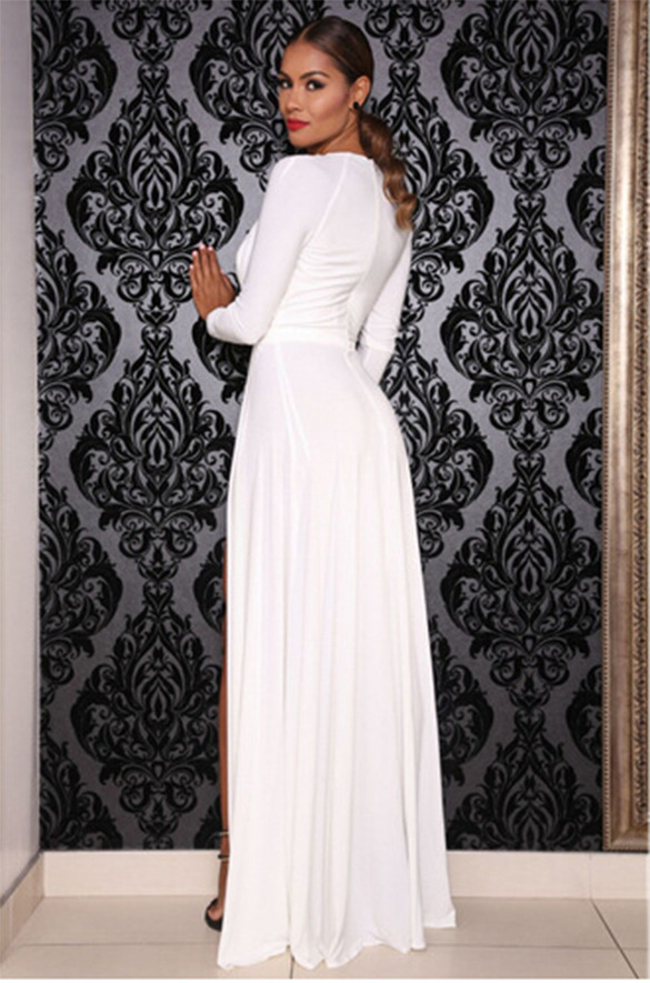 aad4d4df5d Turmec » long sleeve formal maxi dress