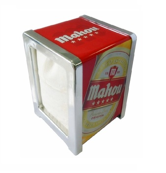 custom printing metal napkin dispenser