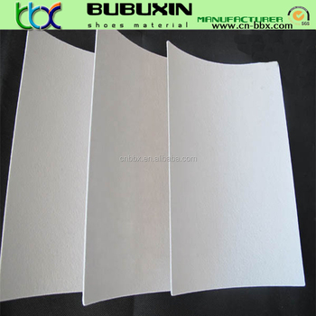 Thermoplastic shoes material toe puff chemical sheet and counter material