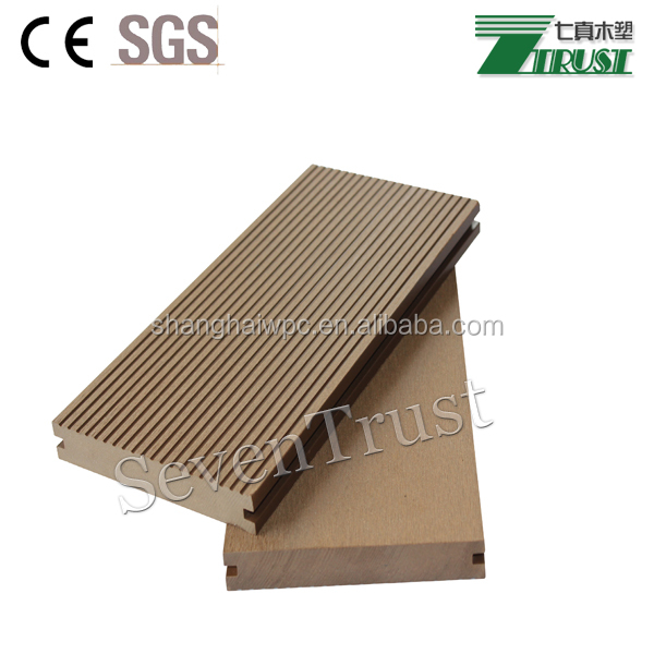 Good Prices and grade a quality Anti-UV Anti-water Anti-wear solidlwood Outdoor flooring/WPC decking from shanghai China
