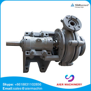 high chrome alloy single stage submersible slurry pump