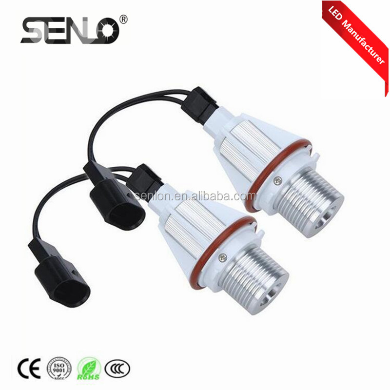 Canbus LED MARKER e39 led angel eyes DRL headlight for BMWM5 E39 E53 X5 E60 E61 E63 E87 525i E46 E36