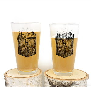 Custom printed 16oz Pint Glass Cup For Drinking