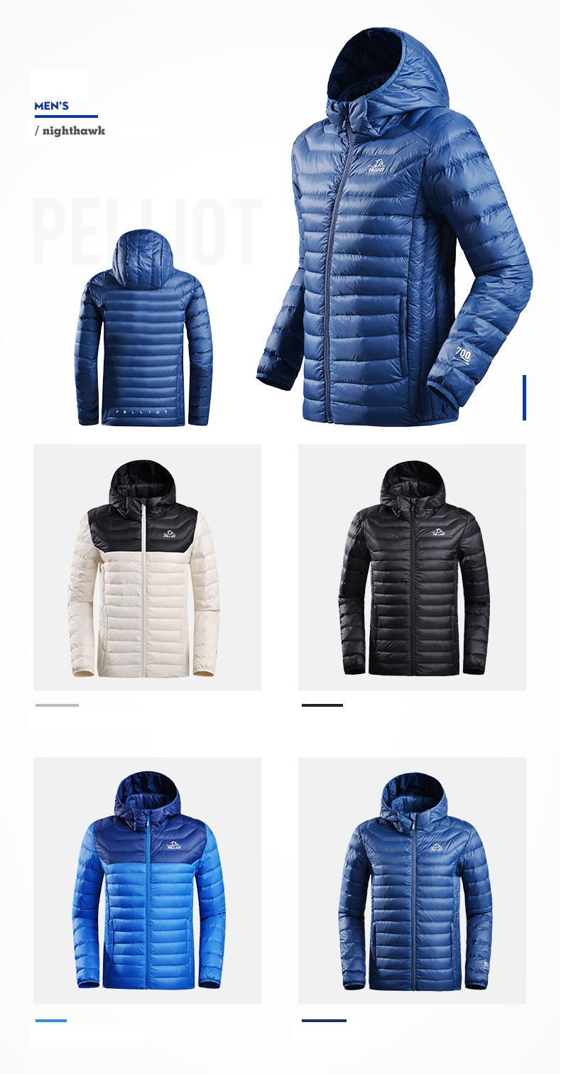 Latest Design Winter Clothing Down Feather Mens winter Bomber down Jacket