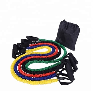 Natural Rubber Latex Fitness Resistance Tube Resistance Rope Elastic Exercise Band
