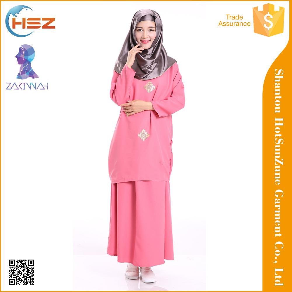 Zakiyyah MD301 nuevo burqa diseños en Dubai Pakistán para musulmanes ...