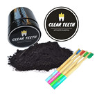 FDA Approved Mint Lemon Orange Cinnamon Original Flavor Activated Charcoal Teething Whitening Black Powder