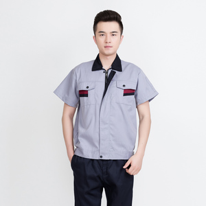 wholesale cheap price China factory high quality short sleeve work wear uniform
