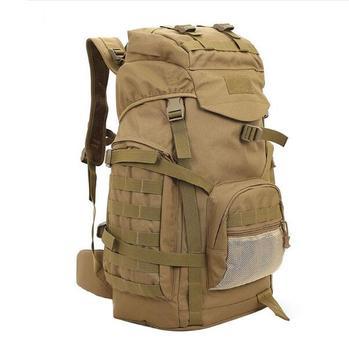 b21b59c13159 Molle 60L Camping Rucksack Tactical Military Backpack Large Waterproof  Backpacks Camouflage Hiking Outdoor Shoulder Bag