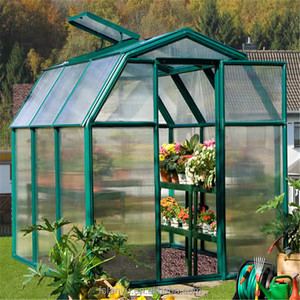 Commercial glass greenhouse used for sale