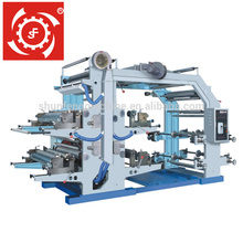 China made roll to roll stack type Flexographic Blowing Machine/Printing Press