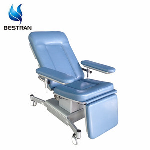BT-DN012 Hospital Hydraulic Donation Couch Blood Dialysis Chair Price