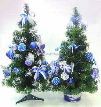new design pvc mini christmas tree slim artificial trees for christmas grave decorations - Christmas Grave Decorations