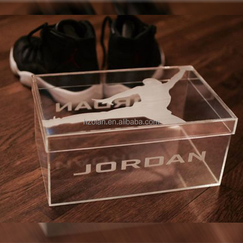 Luxury Acrylic Giant Jordan Shoe Box