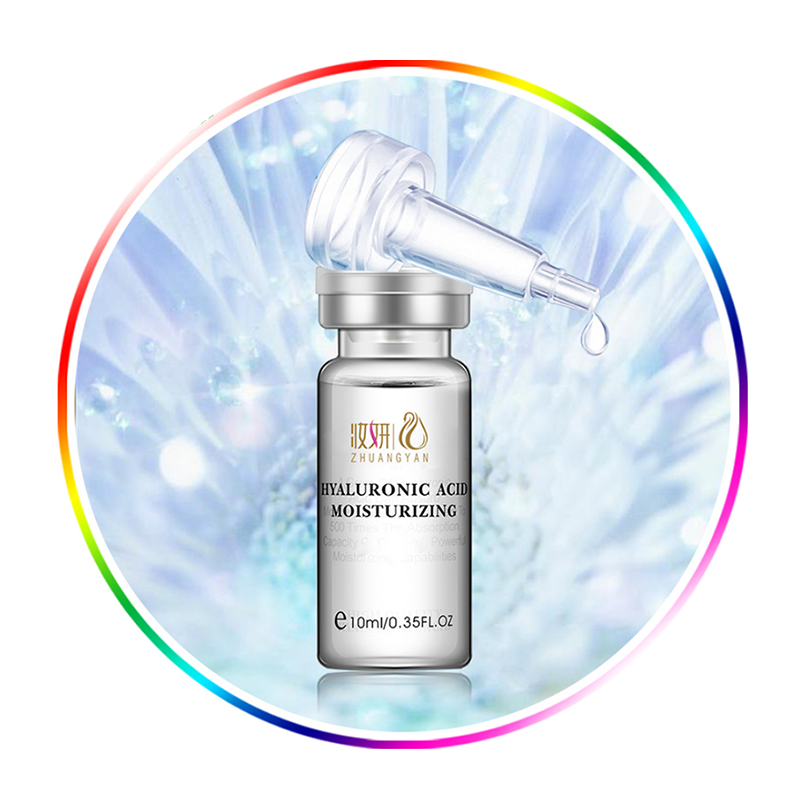 OEM/ODM กวางโจวผู้ผลิต Pigmentation Correctors ชุ่มชื่น Exfoliate Anti - aging Hyaluronic Acid Solution Ampoule เซรั่ม