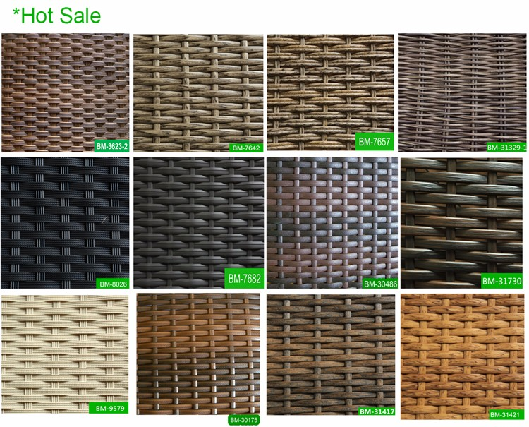 Charming Material For Outdoor Furniture Part - 6: Superior HDPE Round Rattan Raw Material For Garden Furniture