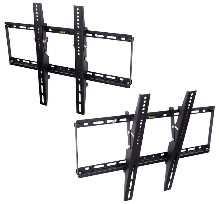 32 65 inch black plasma lcd led flat panel tv - Slanted wall tv mount ...