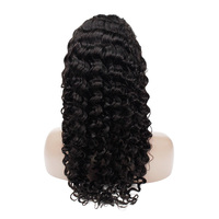 Wholesale Morein Human Hair Deep Wave Lace Front Wigs 100% Mink Brazilian Virgin Hair