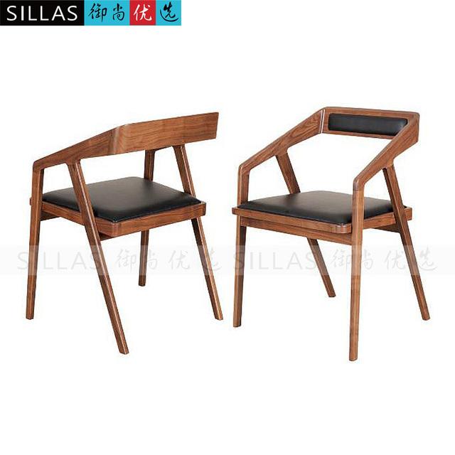 fauteuil bois et cuir maison design. Black Bedroom Furniture Sets. Home Design Ideas