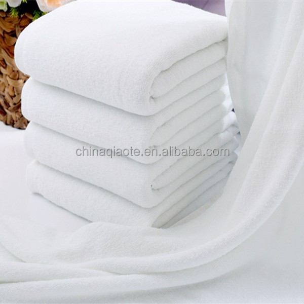 luxury hotel/ Spa 400g white bath towel 100% <strong>cotton</strong>