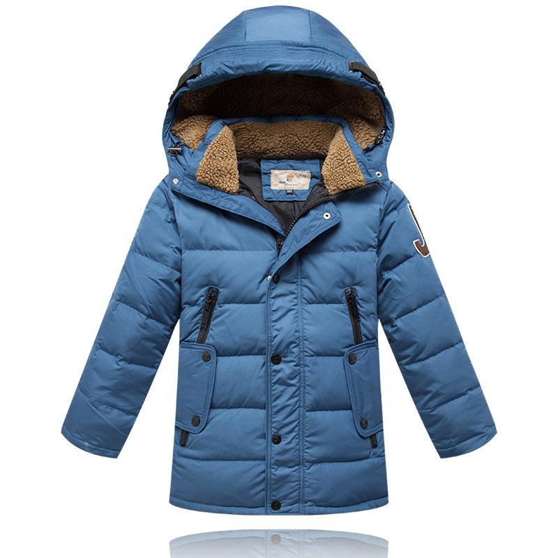 [Boys] Winter Boy Down Jackets Coats Big Boys' Thick