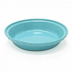 Chantal 9.5-inch Deep Pie Dish - Aqua