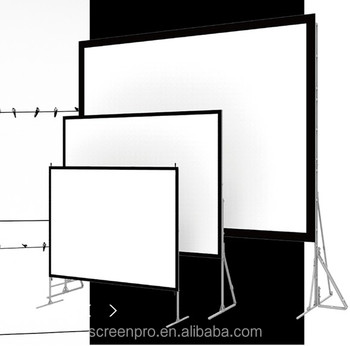 SAMS Convenience Projector screen 120 inch Fast Fold Projector screen