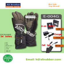 3.7v lithium battery heated thin gloves