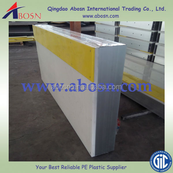 skating plastic boards/barrier/fence /HDPE basketball rink fence/hockey training boards