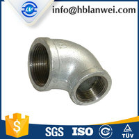 ductile iron galvanized malleable iron pipe fittings low price good quality