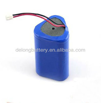 3.7V Lithium ion Battery for Fishing Lights