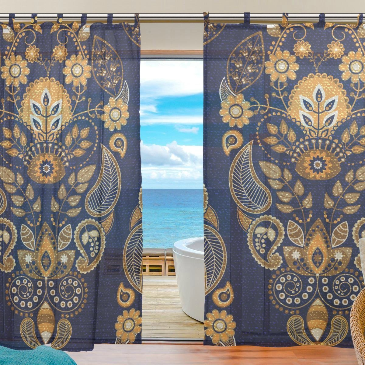 Cheap Bedroom Curtain Panels, find Bedroom Curtain Panels deals on ...