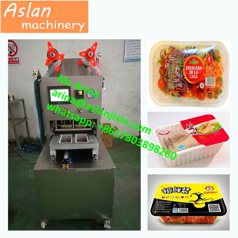 c048d0ccd0c MAP Tray vacuum sealer  cooked fish box vacuum gas flushing sealing machine   sea food