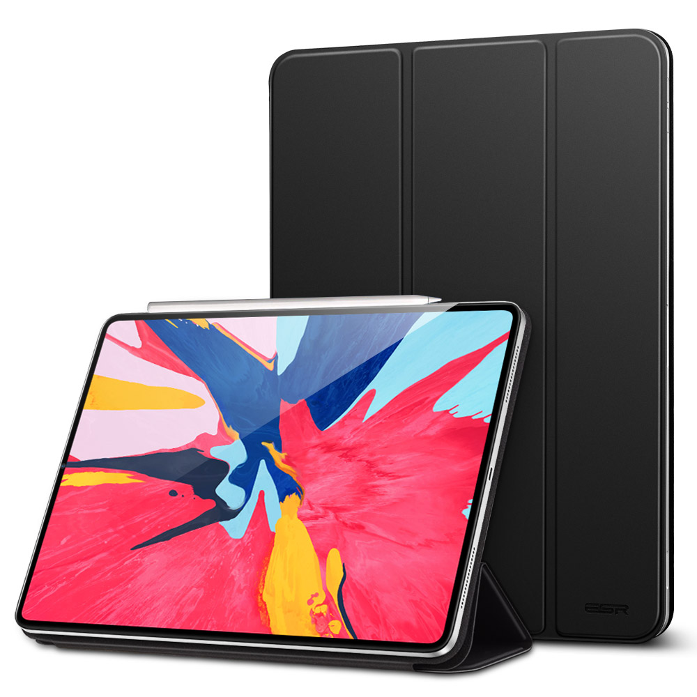 2108 ESR Magnetic tablet case for <strong>iPad</strong> pro 12.9 inch support Pencil magnetically pair and charge cover case for Apple pencil