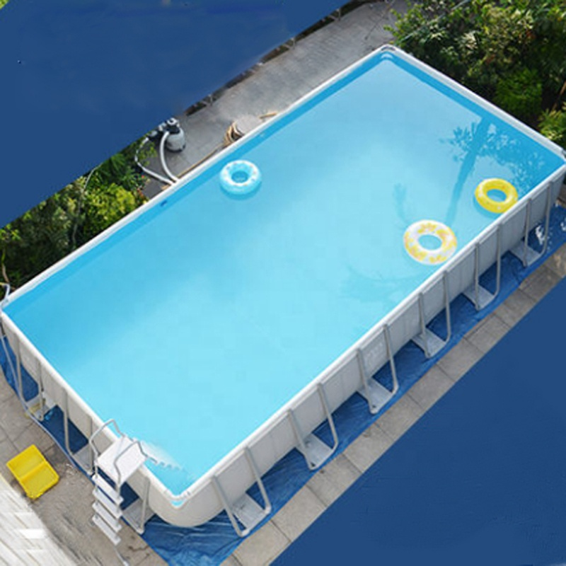 lace up in 2018 sneakers available Portable Family Rectangular Pvc Frame Above Ground Swimming Pool - Buy  Above Ground Swimming Pool,Pvc Frame Swimming Pool,Family Rectangular Frame  ...