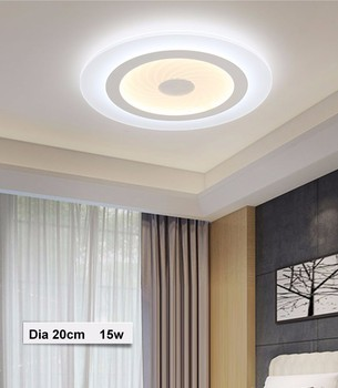 more photos 83630 27512 2017 Modern Led Ceiling Lights Acrylic Ultrathin Living Room Ceiling Lamp  Bedroom Decorative Luminaire Lamparas De Techo Md85078 - Buy Led Ceiling ...