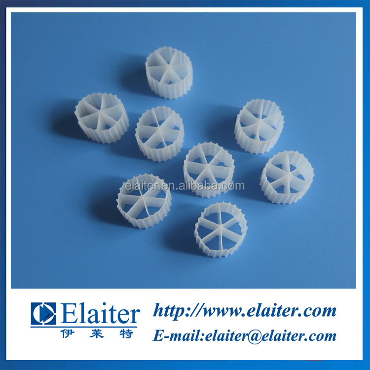 12*10mm plastic Bio media/plastic Biofilm carrier/oil industry treatment media