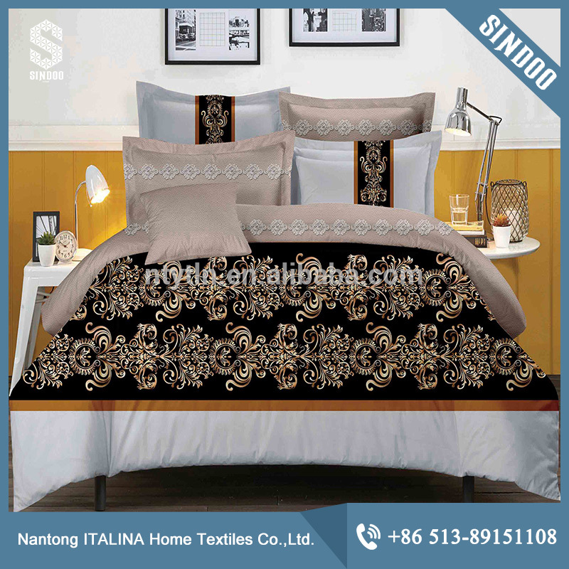 Factory wholesale 100% polyester printed duvet